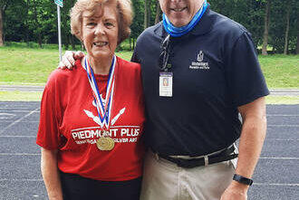 Picture for Brewer wins three gold medals at Senior Games