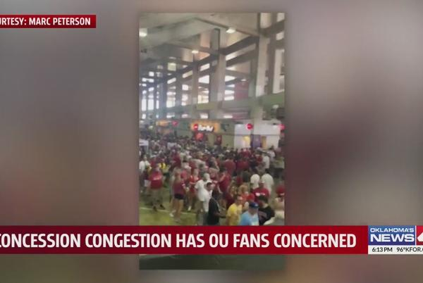Picture for OU concession troubles leave Big Red Rivalry fans frustrated