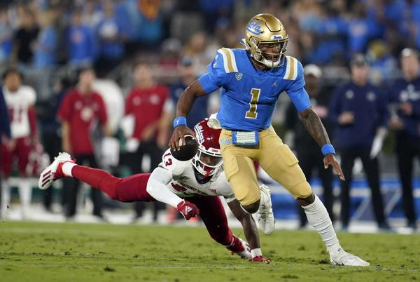 Picture for Enigmatic Thompson-Robinson epitomizes No. 24 UCLA