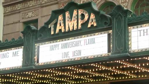 For A Donation The Tampa Theatre Will Put Community Names And Messages On Its Marquee News Break