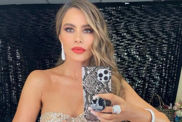 Picture for Sofia Vergara shares throwback picture in leopard print mini dress