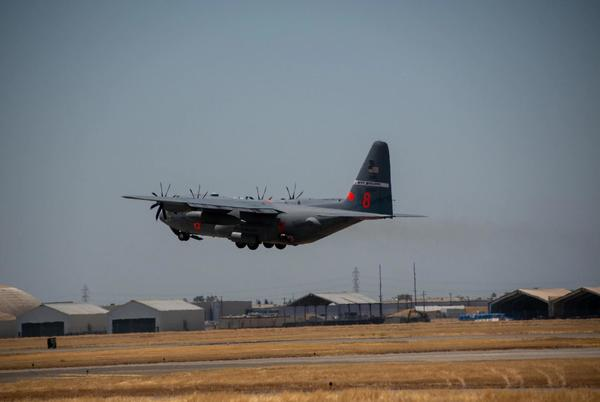 Picture for Nevada Guard MAFFS crews wrap up firefighting mission