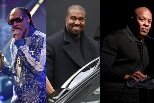 Picture for Kanye West, Dr Dre and Snoop Dogg share clip of new song 'Glory'