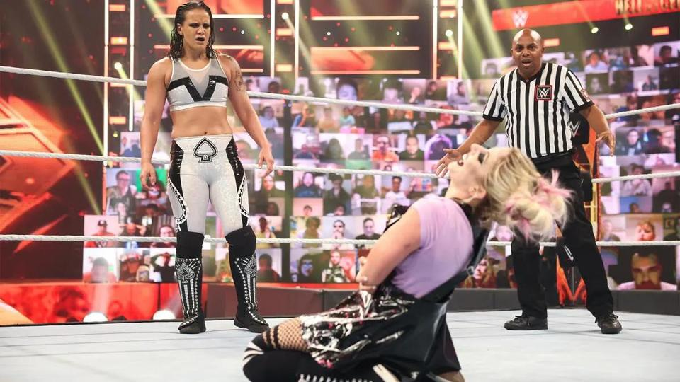 Picture for Former Fighter Shayna Baszler Balances Pro Wrestling's More Theatrical Elements