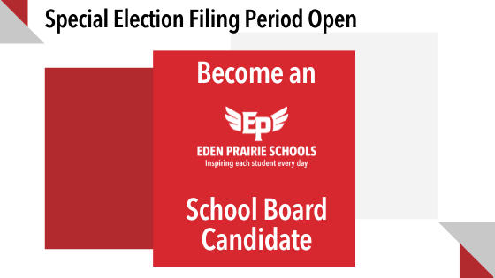 Picture for Eden Prairie Schools: The special election of School Board Candidate 2021