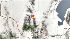 Cover for New fire starts near Little Moab in Utah County