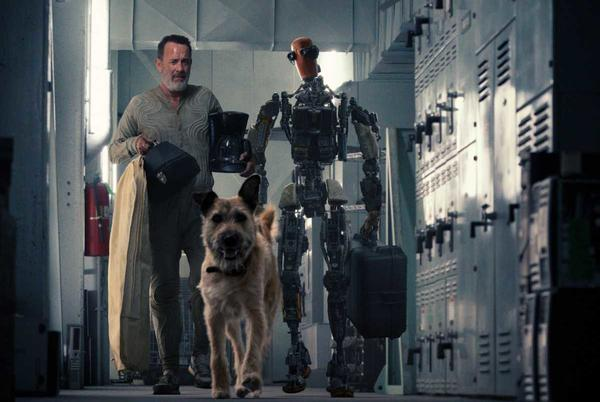 Picture for Finch Trailer Featuring Tom Hanks, a Dog and a Robot