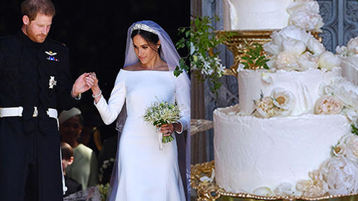 the mastermind behind meghan markle prince harry s wedding cake shares throwback pic for their 2 year anniversary news break the mastermind behind meghan markle