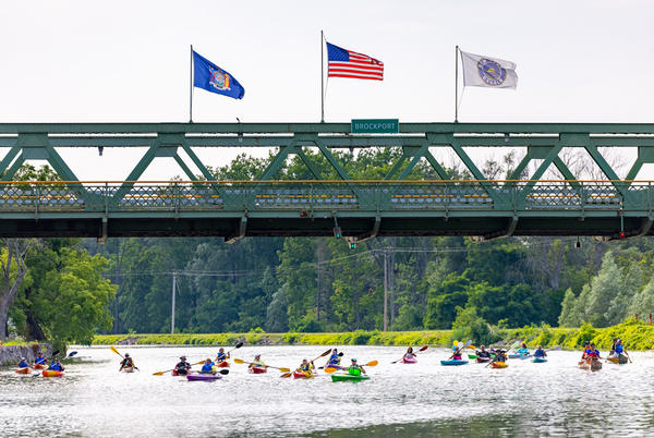 """Picture for """"On The Canals"""" fall kayak/bicycle tours offered in Brockport"""
