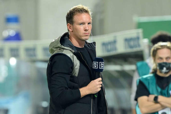 Picture for Bayern Munich boss Julian Nagelsmann reacts to Niklas Süle's leaked WhatsApp messages