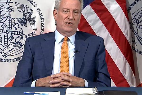 Picture for BLM says de Blasio's COVID vaccine mandate in NYC targets Black people