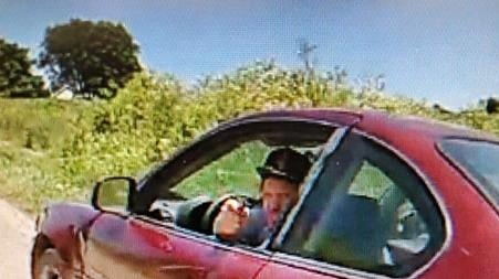 Picture for Authorities seek help identifying driver who pointed firearm at officer in Knox County