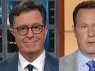 Picture for Stephen Colbert Points and Laughs at Brian Kilmeade's Support of Vaccine Hesitancy