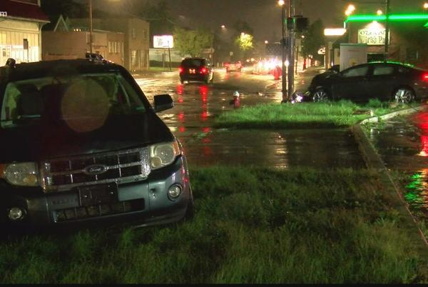 Picture for One person is in the hospital from a crash in West Toledo