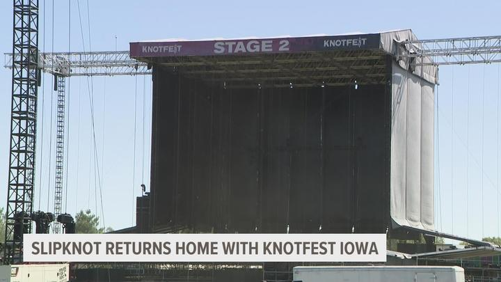 Cover for Preparations underway for Knotfest 2021