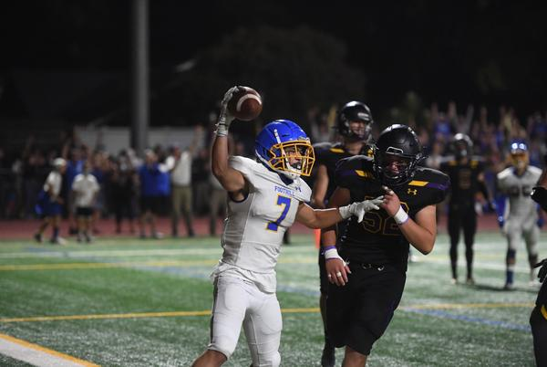 Picture for High school football: Foothill beats Amador on Nick Walsh fourth-down touchdown pass