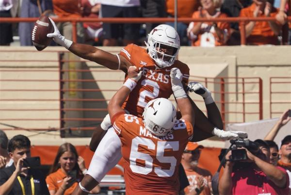 Picture for What Texas coach Steve Sarkisian said after blowout win against Texas Tech
