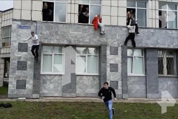Picture for Russian students leap from windows as mass shooter kills at least 8