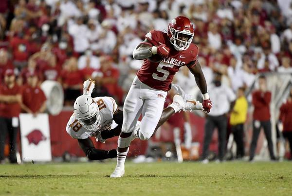Picture for No. 20 Arkansas looks to build on Texas win vs. Ga. Southern