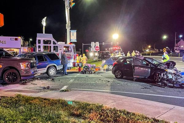Picture for 4-vehicle crash began as Pa. state police pursuit, authorities say