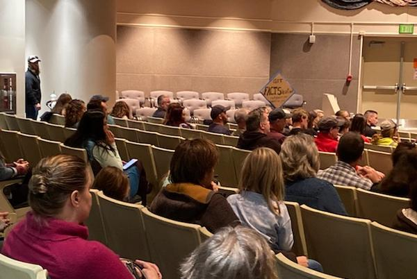 Picture for Nearly 150 workers who oppose C-vaccine mandates attend listening session with Jamie Allard, Mayor Bronson