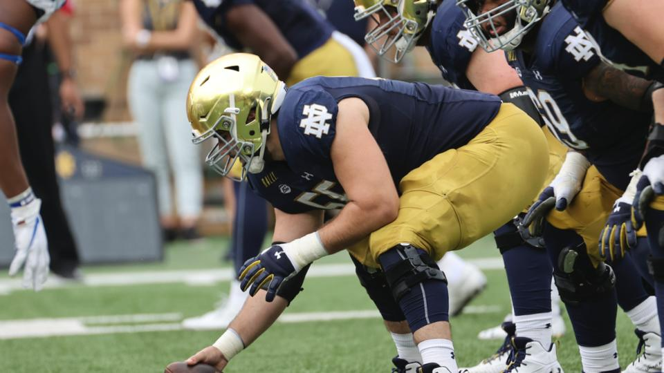 Picture for Talking Notre Dame Offensive Line, Jack Coan, Ian Book And The Saints