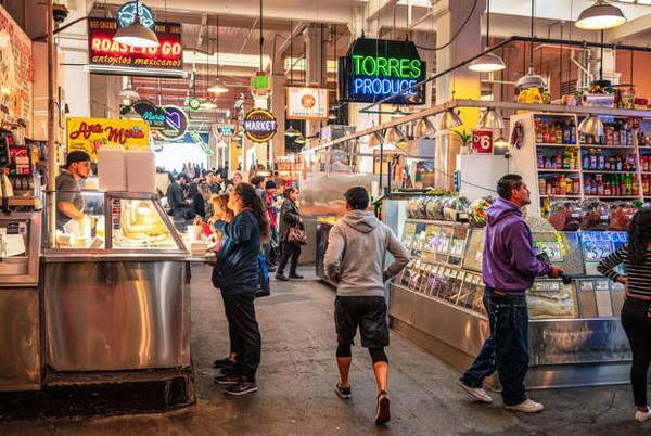 Picture for Food halls and markets that have something for everyone