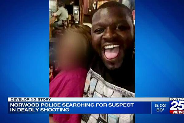 Picture for Norwood police looking for person who opened fire, killing Boston man