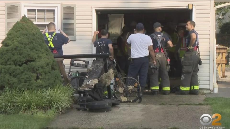 Picture for 28-Year-Old Man Burned When Gas Explosion Blows Out Garage At Perth Amboy Home