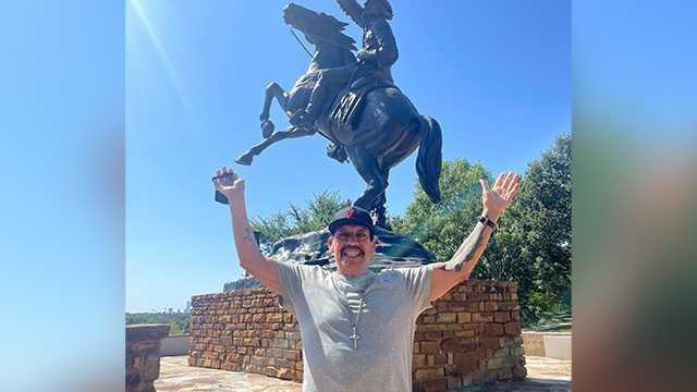 Cover for Actor Danny Trejo visits Oklahoma cowboy museum, takes photos with Oklahomans