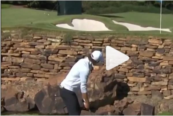 Picture for WATCH: Golf Twitter reacts to AMAZING flop shot over water from college golfer