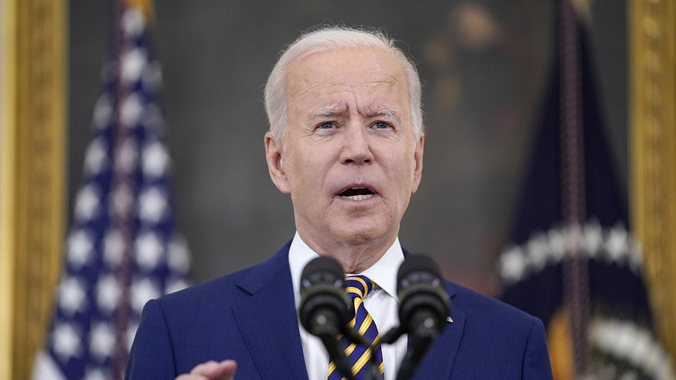 Picture for Biden issues a Covid warning to less vaccinated communities