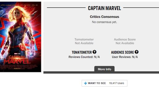 Rotten Tomatoes Responds To Captain Marvel Trolls By Removing