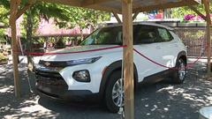 Cover for Work at Knoebels, win an SUV