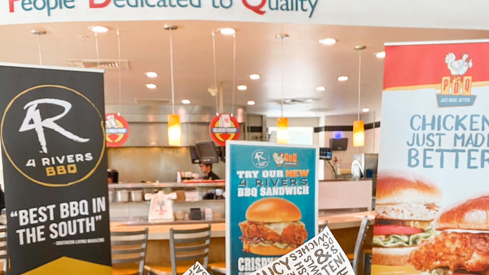 Picture for Popular Florida concepts PDQ and 4 Rivers partner for new BBQ Chicken Sandwich