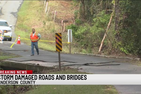 Picture for Anderson Co. inspects dozens of roads after week of flooding