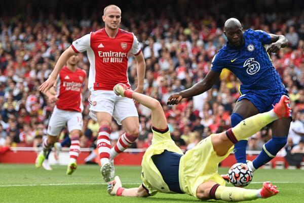 Picture for Arsenal vs. Chelsea score: Romelu Lukaku has dream Premier League return as Blues blow past Gunners