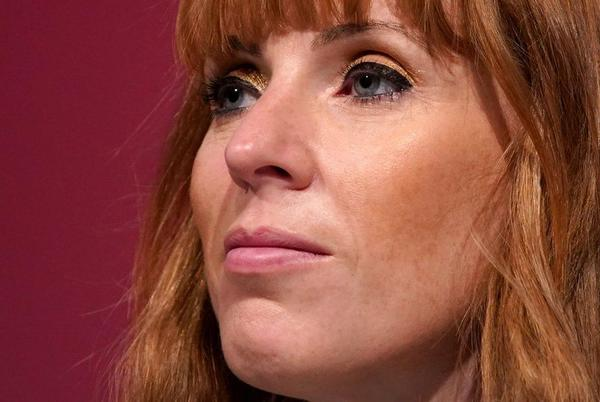 Picture for Labour conference: Angela Rayner renews attack on Johnson in scum row