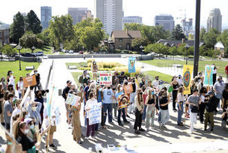 Picture for 'We're not going to stand for this': Utah students strike, call for climate reforms
