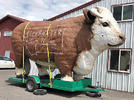 Picture for Why is the Clearwater Junction Cow Missing?