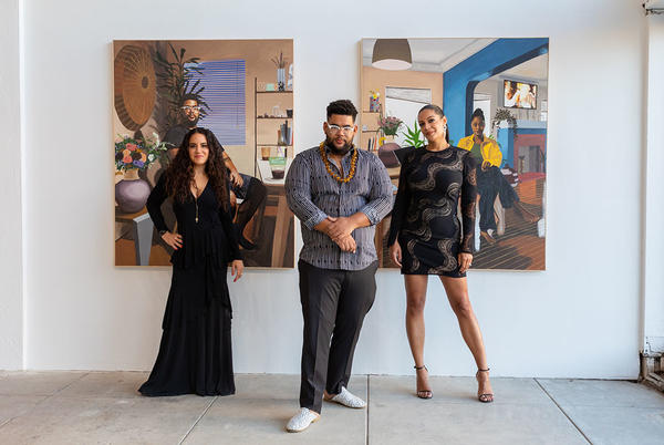 Picture for Black Hollywood Is Snapping Up Paintings by This Young Artist