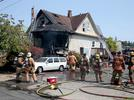 Picture for Unconscious man taken to hospital after being found inside SE Portland house fire
