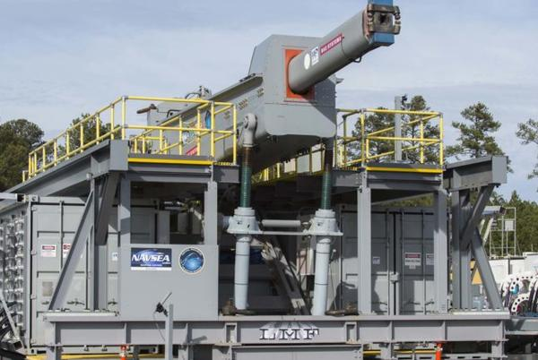 Picture for US Navy Canceling Railgun Project