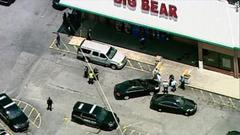 Cover for 1 dead, 2 injured after dispute over mask at Georgia grocery store, sheriff says