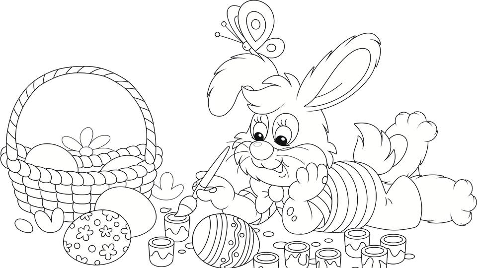 Coloring Pages To Dye For These 25 Free Easter Printables Are An Egg Cellent Activity For Kids News Break