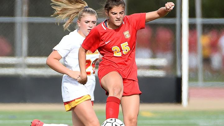 Cover for Girls Soccer: McGeoch, midfield enough for Haverford to top Penncrest