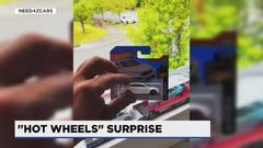 Cover for Vancouver man's video goes viral of leaving Hot Wheels toy for owner of the same car