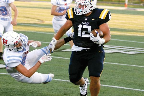 Picture for Brendon Harris' power running fueling Seymour's bounce-back season