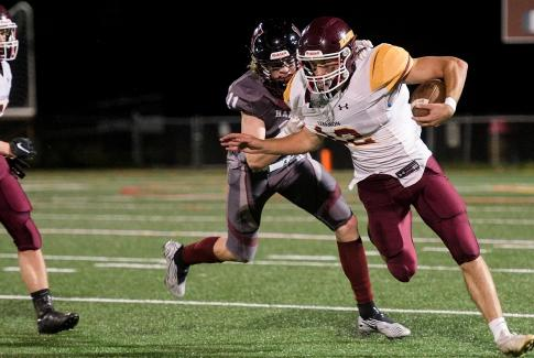 Picture for Lebanon football keeps on rolling, blanks Hanover