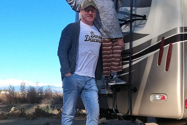 Picture for Dozer who lost home in Fawn Fire to get new RV